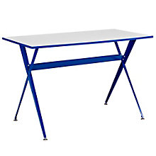 "Expound Compact Two Tone Writing Desk - 47""W, 8802678"
