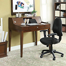"Hemmy Compact Desk with Hutch - 42""W, 8804612"