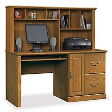 Orchard Hills Computer Desk with Hutch, 8802578