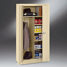 """Ready to Assemble Steel Combination Storage Cabinet - 36""""W x 24""""D x 78""""H, TES-2472"""