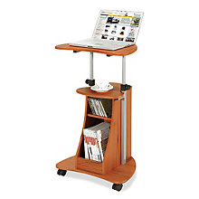 Mobile Laptop Cart with Storage, RTP-B002