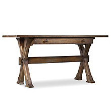 """Willow Bend Writing Desk with Keyboard Tray - 60""""W, 8802649"""