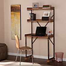 "Tamblyn Multi Shelf Industrial Desk - 34.75""W, 8802705"