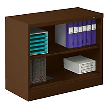 """Two Shelf Steel Bookcase - 18""""D, TES-BC18-30"""