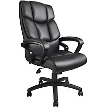 Abrams Bonded Leather Executive Chair, 8803646