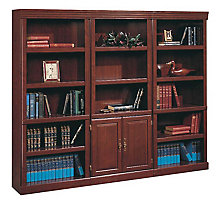 3 heritage hill bookcases from Sauder