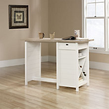 "Cottage Road Counter Height Table Desk - 53""W x 36""H, 8804390"