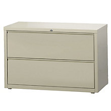 """Dimensions Two Drawer Lateral File - 42"""" W, 8804221"""