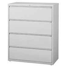 """Dimensions Four Drawer Lateral File - 42"""" W, 8804223"""