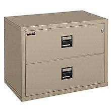 """Fireproof Two Drawer Lateral File - 38""""W, FIR-253822-CSCML"""