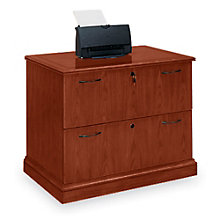 Belmont Sunset Cherry Two Drawer Lateral File, DMI-11022
