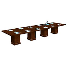 Modular 16' Rectangular Conference Table, OFG-CT0059
