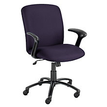 Fabric Big and Tall Chair with Arms, SAF-3490A
