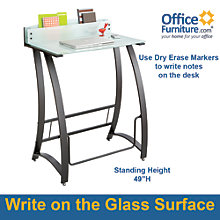 Xpressions Writable Surface Standing Desk, 8802487