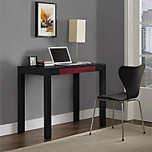 Parsons Collection Desk with Accent Drawer , 8803966