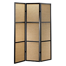 """Bamboo Folding 52""""W x 70""""H Partition, 8801941"""