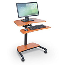 Up-Rite Mobile Sit Stand Desk, BAL-11048