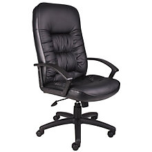 Burke High Back Executive Chair in Bonded Leather , 8802608