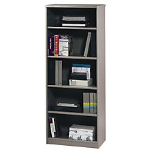 "Series A Five Shelf Extra Deep Bookcase - 66.375""H, BSH-WC14568"