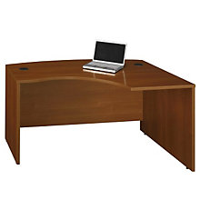 Series C Right Bowfront L-Desk Shell, BUS-WC22