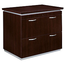Mocha Two Drawer Lateral File, 8803032