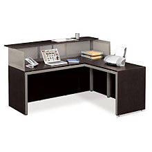 At Work Reception L-Desk with Right Return, OFG-LD1225