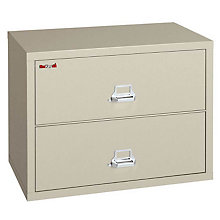 """Fireproof Two Drawer Lateral File - 31""""W, FRK-2-3122-C"""