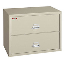 """Fireproof Two Drawer Lateral File - 38""""W, FRK-2-3822-C"""