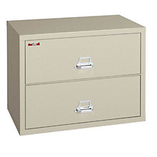 """Fireproof Two Drawer Lateral File - 44""""W, FRK-2-4422-C"""