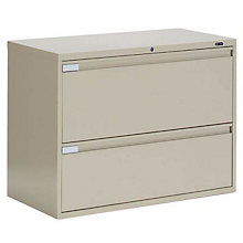 """2 Drawer Lateral File 36""""W, GLO-9336P-2F1H"""