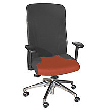 High Back Mesh and Fabric Executive Ergonomic Chair, HIG-781CB
