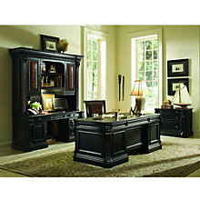Telluride Executive Desk Set with Chair and Lateral File, 8802618