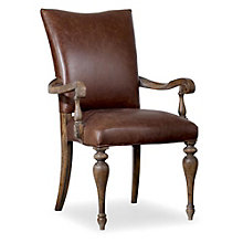 Leather Arm Chair, 8802650