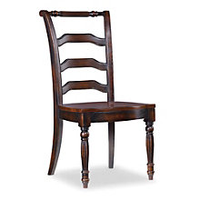 Eastridge Traditional Armless Chair with Fluted Front Legs , 8802661