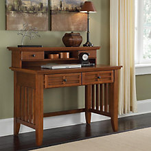 "Mission Style Student Desk with Hutch - 42"", 8804108"