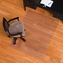 """Smooth Chairmat for Hard Floors - 46"""" x 60"""", INV-132331"""