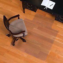 """Smooth Chairmat with Lip for Hard Floors - 46"""" x 60"""", INV-132333"""