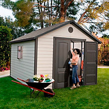 Outdoor Shed 11' x 13-1/2', LIT-6415