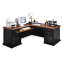 Southampton Onyx L-Desk with Left Return, MRT-LD1076