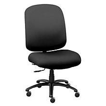 Big & Tall Chair in Faux Leather, 8803165