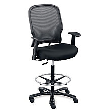 Linear Big and Tall Stool with Memory Foam, OFG-CH1051