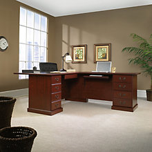 Heritage Hill Reversible L-Desk, OFG-LD0008
