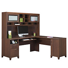 Achieve L-Desk with Right Return and Hutch, OFG-LD0201