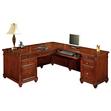 Antigua Executive L-Desk with Right Return, OFG-LD1176