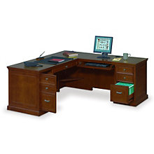 Executive L-Shaped Desk with Right Return, OFG-LD1215