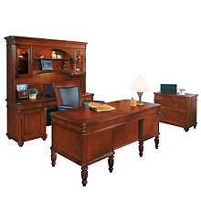 Antigua Veneer Four Piece Office Collection, OFG-MS1028