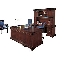 Right U-Desk with Hutch, OFG-UD1031
