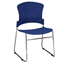 Multi-Use Plastic Stack Chair, OFM-310P