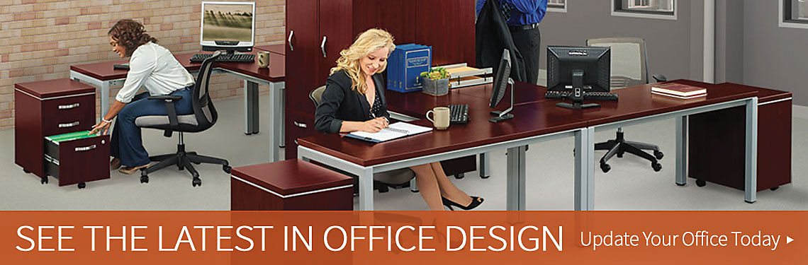 Updated your office with new furniture