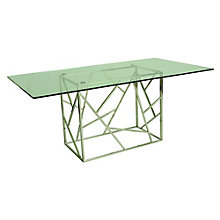 Fuerza Glass Top Conference Table, PAE-10835